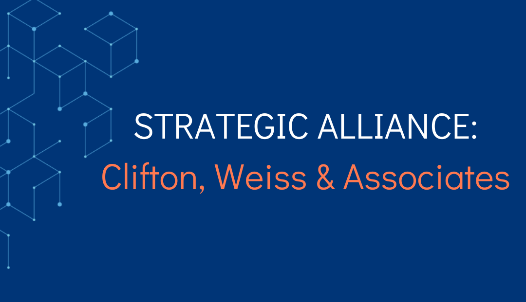 Sology Solutions and Clifton, Weiss & Associates Sign Strategic Alliance Agreement