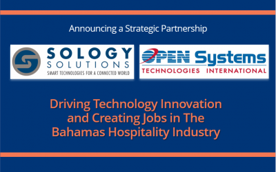 Open Systems Technologies International (Bahamas) Limited and Sology Solutions Announce Strategic Partnership